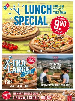 Domino's Pizza Katalog ( Läuft morgen ab )