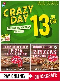 Domino's Pizza Katalog ( Läuft heute ab )