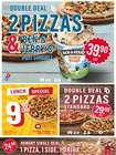 Angebote von Restaurants im Domino's Pizza Prospekt ( 2 Tage übrig )