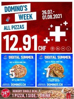 Angebote vonRestaurants im Domino's Pizza Prospekt ( 3 Tage übrig)