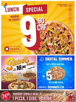Angebote vonRestaurants im Domino's Pizza Prospekt ( Gestern veröffentlicht)