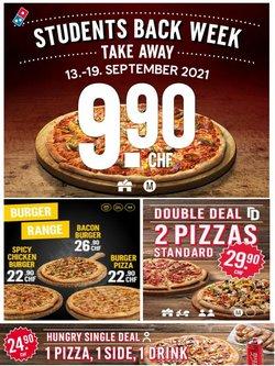 Angebote vonRestaurants im Domino's Pizza Prospekt ( Läuft heute ab)