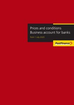 Post finance Katalog in Bern ( Mehr als 30 Tage )