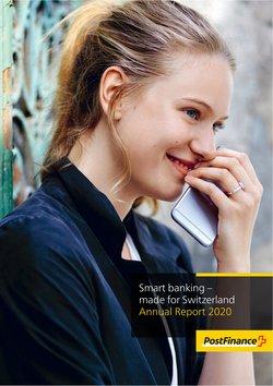 Angebote vonBanken & Dienstleistungen im Post finance Prospekt ( 16 Tage übrig)