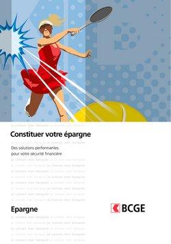 Angebote vonBanken & Dienstleistungen im BCGE Prospekt ( Mehr als 30 Tage)
