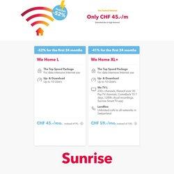 Angebote vonSunrise im Sunrise Prospekt ( 7 Tage übrig)