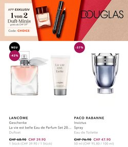 Angebote vonDouglas im Douglas Prospekt ( 11 Tage übrig)