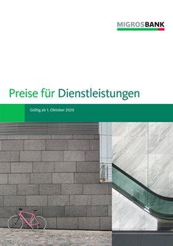 Angebote von Banken & Dienstleistungen im Migros Bank Prospekt in Basel ( 10 Tage übrig )