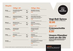 Angebote vonRestaurants im Migros Restaurant Prospekt ( Läuft heute ab)