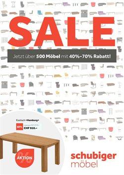Schubiger Möbel Katalog ( Abgelaufen )