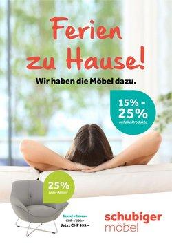 Angebote vonSchubiger Möbel im Schubiger Möbel Prospekt ( 17 Tage übrig)