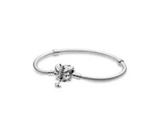 Pandora Moments Schlangen-Gliederarmband mit Schmetterling-Verschluss für €99