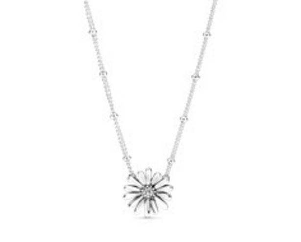 Pavé Gänseblümchen Collier-Halskette für €99