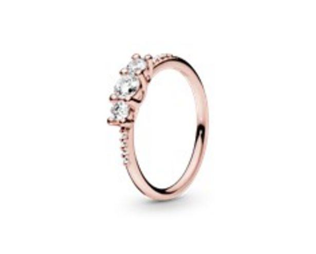 Drei Klare Steine Ring für €99