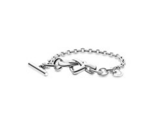 Liebesknoten mit T-Verschluss Armband für €125