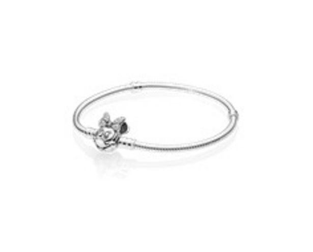 Disney Pavé Minnie Maus-Kugelverschluss Schlangen-Gliederarmband für €109