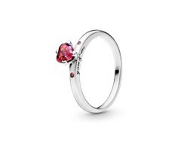 Funkelndes Rotes Herz Ring für €59