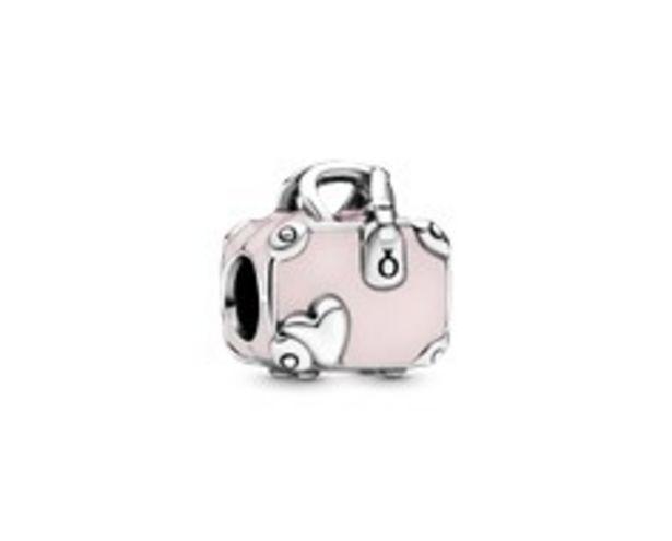 Rosafarbener Koffer Charm für €49
