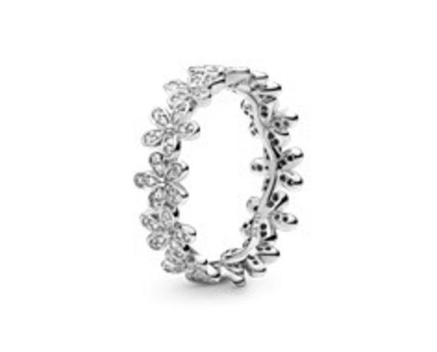 Glanzvolles Gänseblümchen-Band Ring für €99