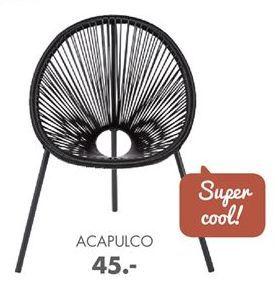 ACAPULCO Kinderstuhl Schwarz H 57 x B 42 x T 41 cm für €45