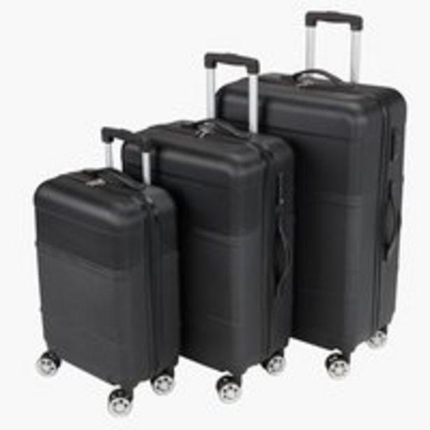 Koffer GUSTEN 3Stk/Set schwarz für €229