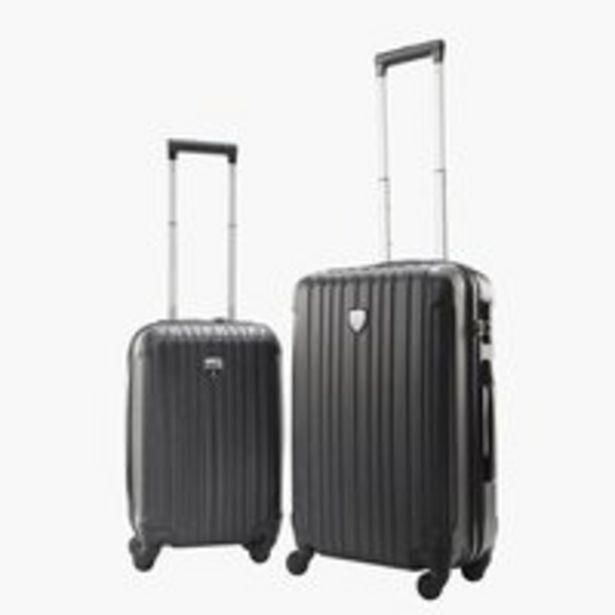 Koffer COMFORTRAVEL 2 Stk/Set schwarz für €50