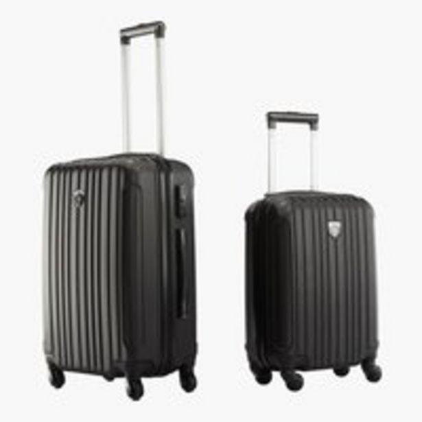 Koffer FIRST CLASS 2Stk/Set schwarz für €49,95