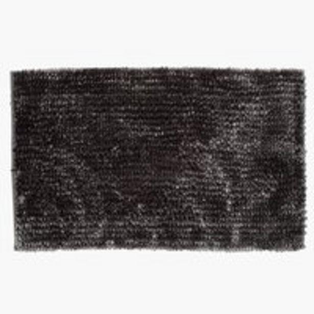 Badematte BERGBY 50x80 grau für €17,95
