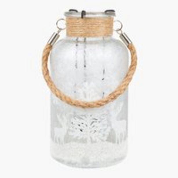 Teelichthalter KRYBBE Ø10xH20cm Glas für €6,95