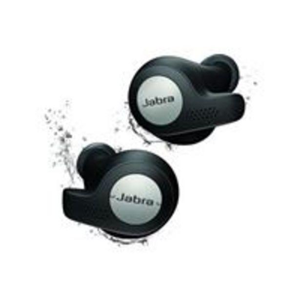 Ecouteurs sans fil True Wireless Jabra Elite 65t Active Noir et titane für €122,55