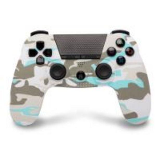 Manette PS4 Under Control Bluetooth Blanc Camouflage avec Prise Jack für €39,95