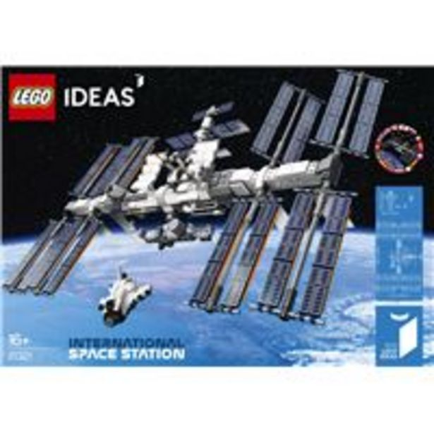 LEGO® Ideas 21321 La station spatiale internationale für €74,95