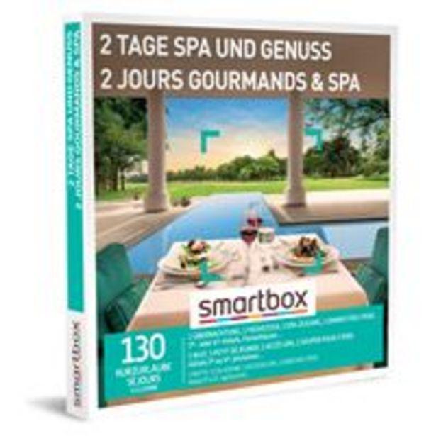Coffret cadeau Smartbox 2 Jours Gourmands & Spa für €299,9