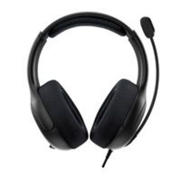 Casque Gaming filaire PDP LVL50 Noir pour Xbox One für €49,95