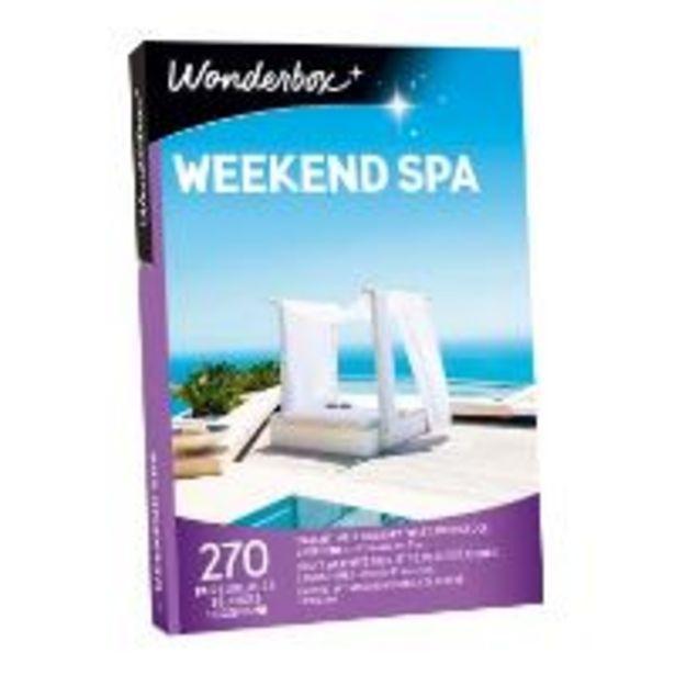 Coffret cadeau Wonderbox Weekend spa für €219,9