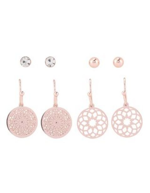 Damen Ohrringe im 4er-Pack für €5,95