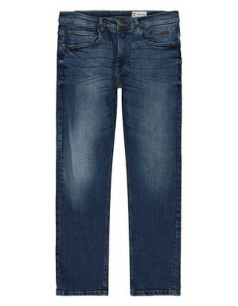 Herren Straight Fit Jeans im Used-Look für €39,95