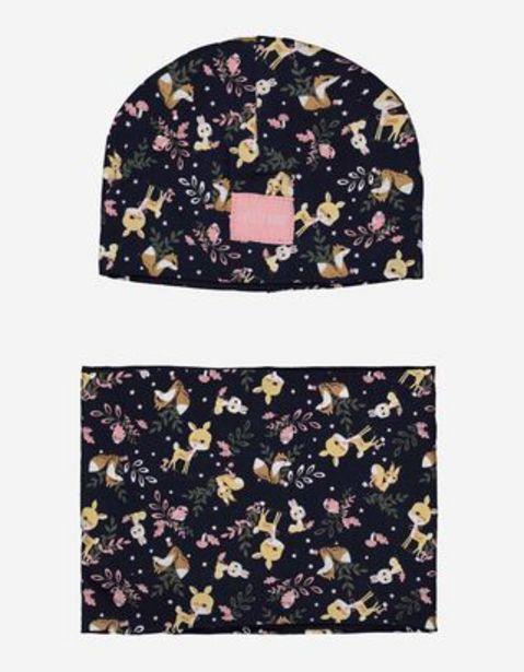 Baby Set aus Beanie und Loop-Schal - Allover-Print für €14,95