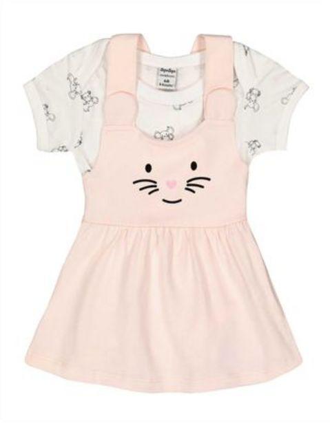 Newborn Set aus Body und Kleid - Print für €14,95