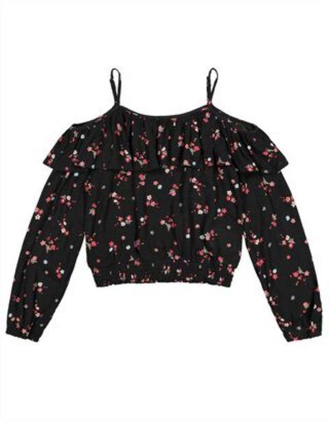 Mädchen Bluse - Cold-Shoulder für €14,95