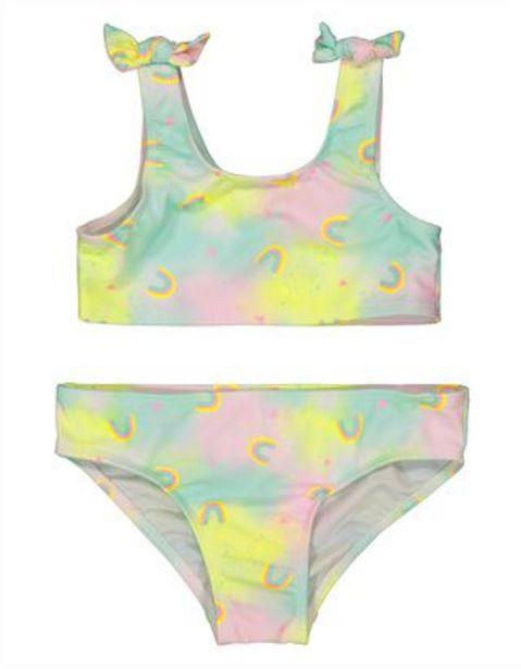 Mädchen Bikini mit Regenbogenmuster für €14,95