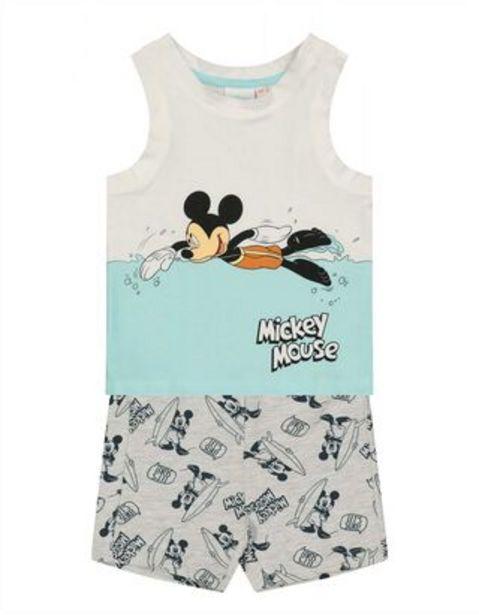 Baby Set aus Tanktop und Hose - Mickey Mouse-Print für €14,95