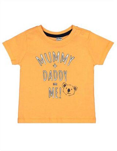 Newborn T-Shirt mit Message-Print für €3,95