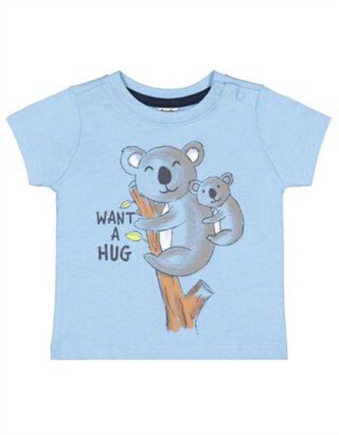 Newborn T-Shirt mit Print für €3,95