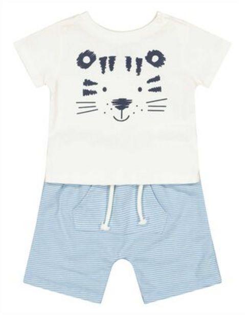 Newborn Set aus T-Shirt und Hose für €9,95