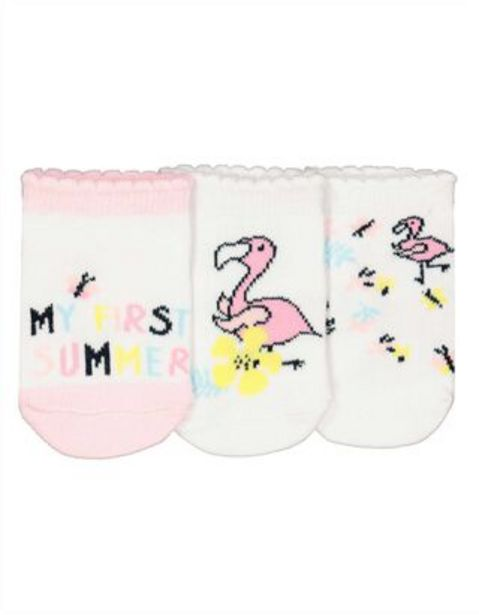 Baby Socken - 3er-Pack für €3,95