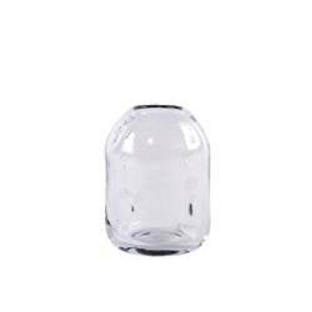 BLOW Vase transparent H 18 cm; Ø 12 cm für €9