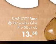 SIMPLICITY Vase für €13,5