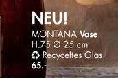 MONTANA Vase für €65